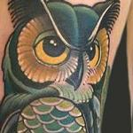 Tattoos - owl - 100525
